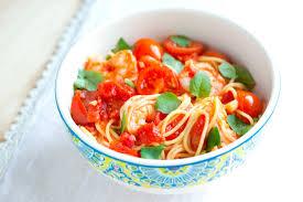 minute shrimp pasta recipe with tomato and basil