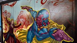 marvel wall mural australia wall murals you ll love mask hammer on twitter awesome close ups of wall mural for