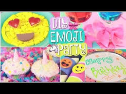 Cake Decorations At Home Birthday Party Decorations At Home Simple Diy Emoji Party