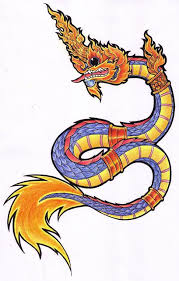 naga tattoo thailand large thai naga blue by spencer tattoos by spencer thailand