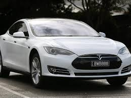tesla electric car talking point tassie u0027s electric car movement gaining traction