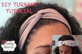 infinity headband turban inspired headband diy turband tutorial
