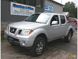 nissan frontier crew cab 4x4 2011 nissan frontier pro 4x crew cab 4x4 in radiant silver