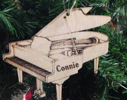 piano ornament etsy