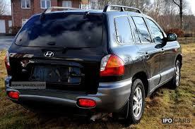 2005 hyundai santa fe type 2005 hyundai santa fe 2 4 4wd gls car photo and specs