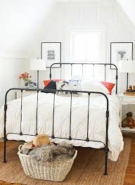 Pottery Barn Iron Bed Iron Beds Bed Frames Iron And Bedrooms
