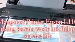 cara reset printer canon ip2770 lu kedap kedip bergantian reset printer epson l110 l210 l300 l310 blinking youtube