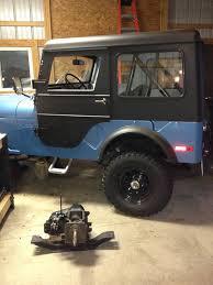jeep pathkiller jetset metallic blue paint clones ecj5
