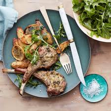 roasted lamb chops and potatoes with rosemary rachael ray every day