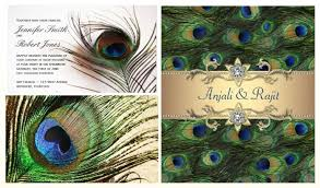 peacock invitations peacock wedding invitations customizable peacock invitations