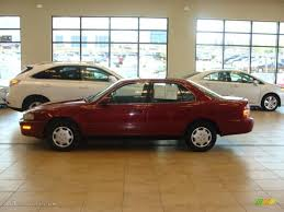 1992 medium red pearl toyota camry le sedan 28759498 photo 2