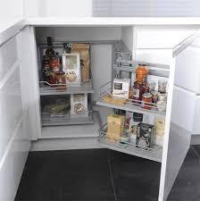 amenagement placard cuisine ikea rangement d angle coulissant magic corner cooke lewis plan