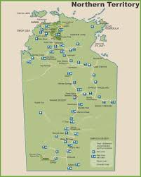northern map northern territory maps australia maps of northern territory nt