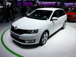 2018 skoda rapid spaceback car photos catalog 2017