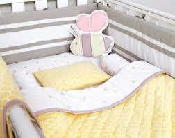 bee crib bedding etsy