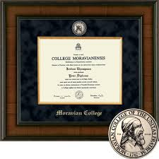 diploma frame size moravian college bookstore church hill classics presidential