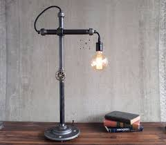 bare bulb desk lamps industrial style work light by peared creation