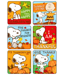 peanuts thanksgiving stickers stickers from medibadge