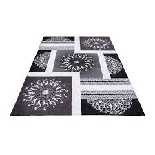 Large Modern Rug by Modern Quality Designer Contemporary Rugs Extra Large Black Grey