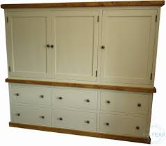 painted kitchen 3 door 6 drawer housekeeping larder cupboard from