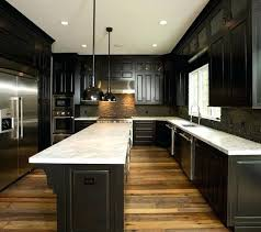 dark kitchen cabinets with light floors dark kitchen cabinets with dark wood floors pictures full size of