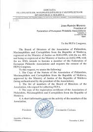 green card cover letter sample request from the association of moldova to become a fepa member