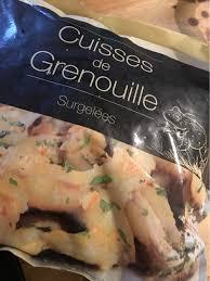 cuisiner cuisses de grenouilles surgel馥s cuisses de grenouille surgelées aldi