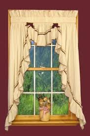 Valance For Windows Curtains Jenny 3 Piece Country Ruffled Swags U0026 Filler Valance Window