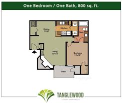 one bedroom floor plans floorplans tanglewood apartments in pensacola florida