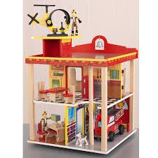 amazon com kidkraft fire station set toys u0026 games