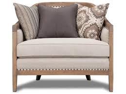 magnussen home living room taupe chair u3431 50 072 hi desert
