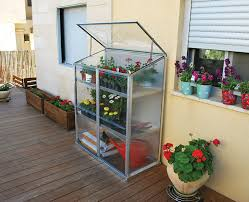 Palram Polycarbonate Greenhouse Amazon Com Palram Grow Station Raised Garden Bed Greenhouse