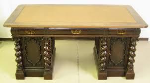 Antiker Schreibtisch Schreibtisch Mit Gedrechselten Säulen Fulminanter Originaler