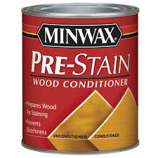 minwax 1 qt pre stain wood conditioner 61500 the home depot