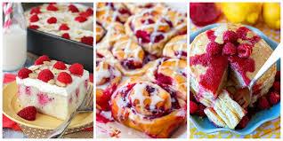 Raspberry Recipes | 25 best raspberry recipes cooking with fresh raspberries