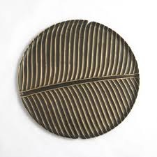 home decor objects banana leaf plate from the exclusive home decor and home