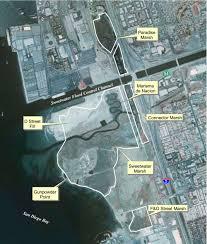 San Diego Bay Map by Gunpowder Point History South Bay Historical Society
