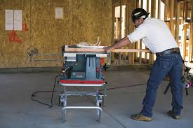 bosch safety table saw bosch s new reaxx table saw can detect human flesh digital trends