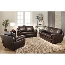 Sofa And Loveseat Leather Mavin Top Grain Leather Sofa Loveseat And Armchair Set Sam U0027s Club