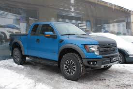 Ford F 150 Camo Truck Wraps - ford raptor matte blue black two tone bonnet 4x4s and matte