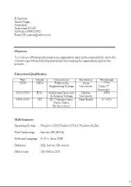 Microbiologist Sample Resume by Fresher Microbiologist Resume Samples Resume Format For Msc