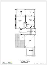 Italian Villa Floor Plans by Bloom Gardens Villas Floor Plans Bloom Gardens Abu Dhabi
