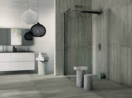 porcelain tiles with concrete effect formwork by cerdisa