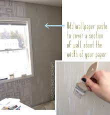 How To Cover A Window by How To Hang Wallpaper Like A Pro Jenna Burger