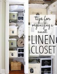Organizing U0026 Storage Tips For by Best 25 Small Linen Closets Ideas On Pinterest Organize A Linen