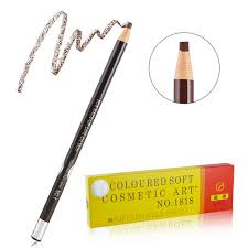 light grey eyebrow pencil 12 pcs lot 5 colors professional 1818 eyebrow pencil waterproof eye