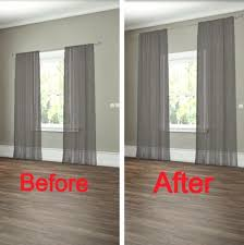 Hang Curtains From Ceiling Designs Appealing Hanging Curtains From Ceiling And Best 25 Floor To