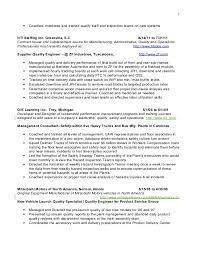 plant manager resume william sagy resume operations manager plant manager quality indust