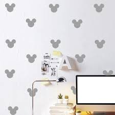 popular baby wall decor stickers buy cheap baby wall decor 12pcs set mickey avatar wall paste sticker kid s bedroom decorate wall decals princess baby room