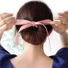 elastic hair band hairstyles buy ribbon hairstyles and get free shipping on aliexpress com